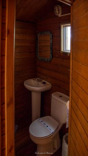 Cabaña 11 baño